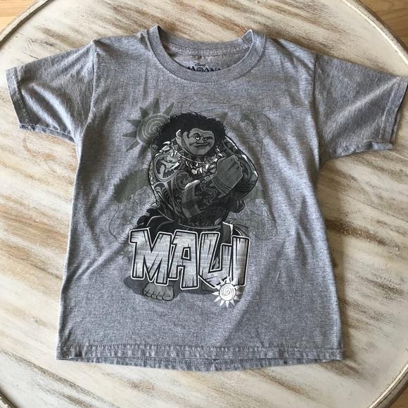 4c55a7bc Disney Shirts & Tops | Moana Maui Tshirt Boy 67 Euc | Poshmark